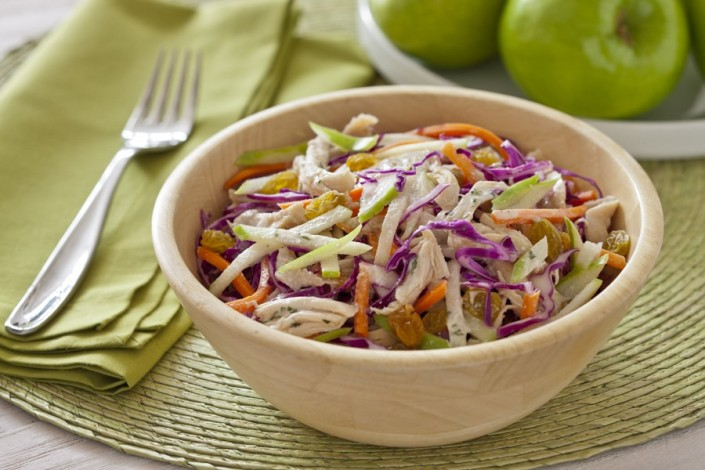 chicken apple slaw